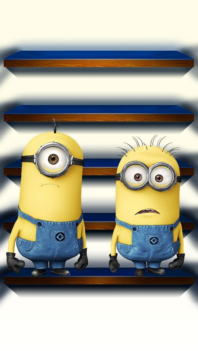 The Iphone 5 Wallpaper I Just Pinned Minions Minions Wallpaper