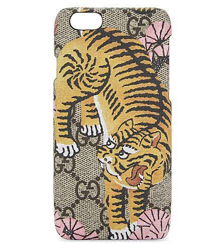 4930a056289587 GUCCI Bengal Tiger Print Iphone 6 Case.  gucci  phones