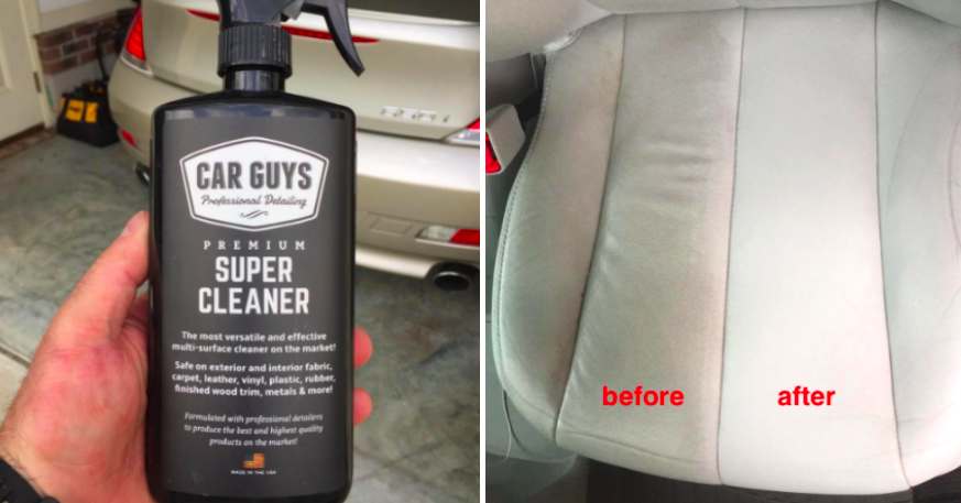 This Cleaning Spray Is All You Need To Give Your Car The Best Cleaning Of Its Life Cleaning Spray Cleaning Cleaning Car Upholstery