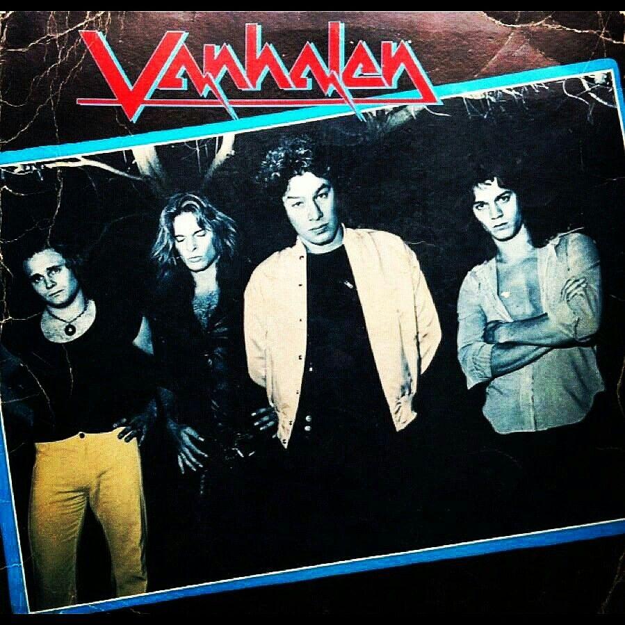 """Alternate cover for Van Halen One,...yes this was almost the album cover for Van Halens first album!"" #evh #eddievanhalen #alexvanhalen #diamonddave #davidleeroth #michaelanthony #alternate #albumcover #Rock #Music #vantastikhistory #Vantastik #VanHalen"
