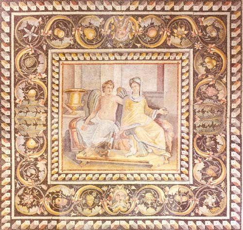 Zeugma : un lieu de création artistique et de culture | Archéologie, Peinture murale et Mosaiste