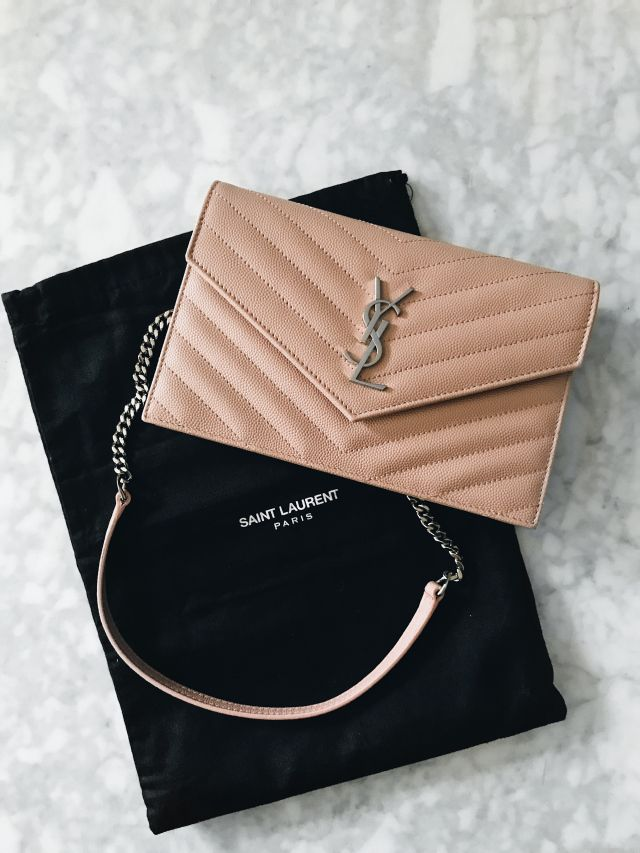 88d9f4ed2605 Bag Review  Yves Saint Laurent Monogram Wallet On Chain – Becca Risa Luna