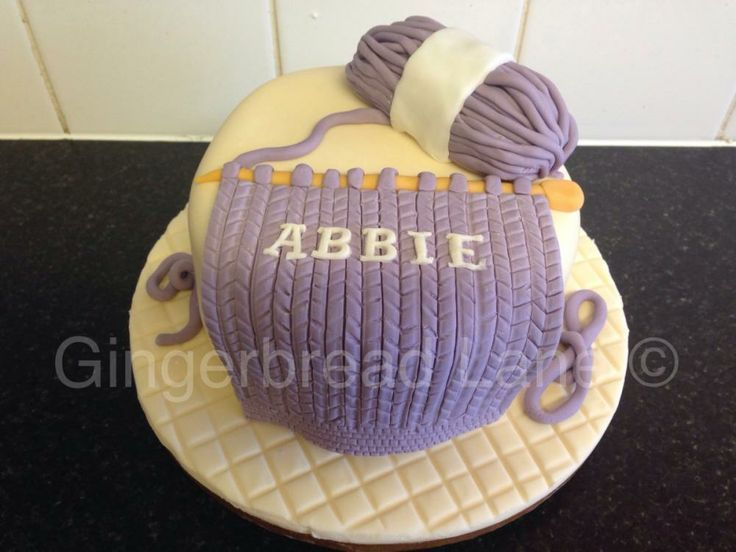 Knitting Cakes Images : Bolo tricô da vovó cake knitting and