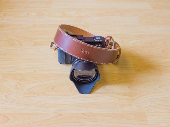 Leather Camera Strap, Neck strap, Shoulder strap, Canvas camera strap, Fuji camera strap, Leica camera strap: LUXOR
