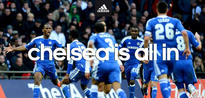 #Chelsea is all in #Adidas #football