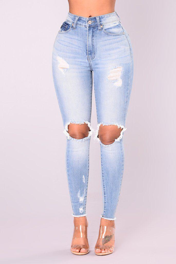 c732c8010666a Naya Skinny Jeans - Light Denim