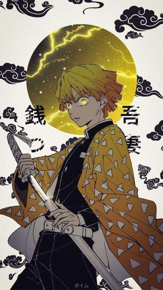 Photo of Desenhando Zenitsu – Kimetsu no Yaiba