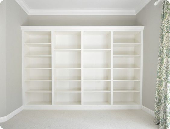 How To Make Ikea Bookcases Look Built In