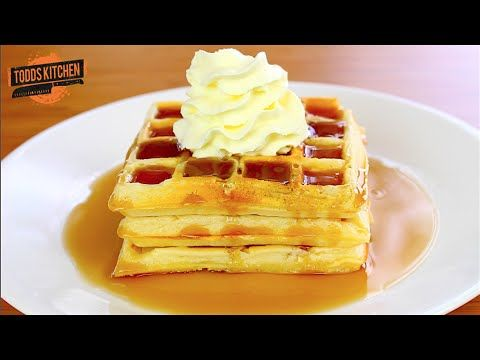 Belgian waffles todds kitchen simple cooking channel pinterest food belgian waffles forumfinder Images