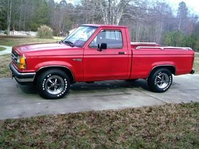 1990 Ford Ranger 2 Dr Xlt Standard Cab Sb Ford Ranger Ranger Built Ford Tough
