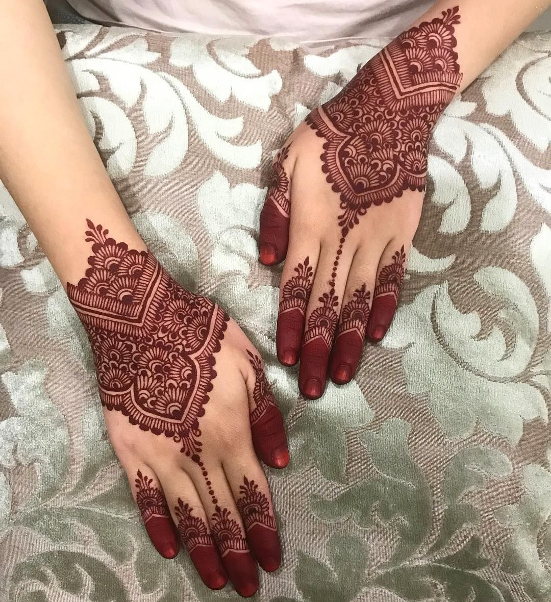 Beautifull Simple Henna Wedding White Henna Designs Henna Art