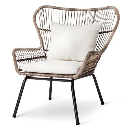 Rattan Patio Chat Set   Threshold™ : Target