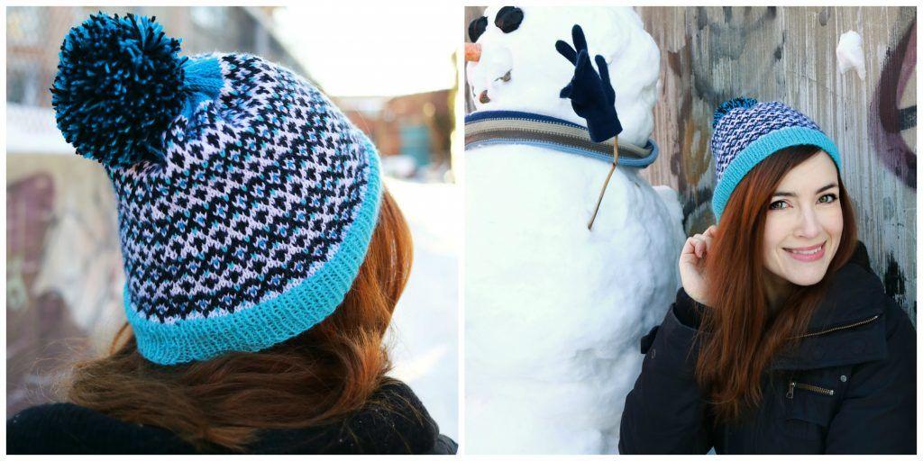 Free Knitting Pattern: Hobium Colorwork Hat | Knitting Hat Patterns ...