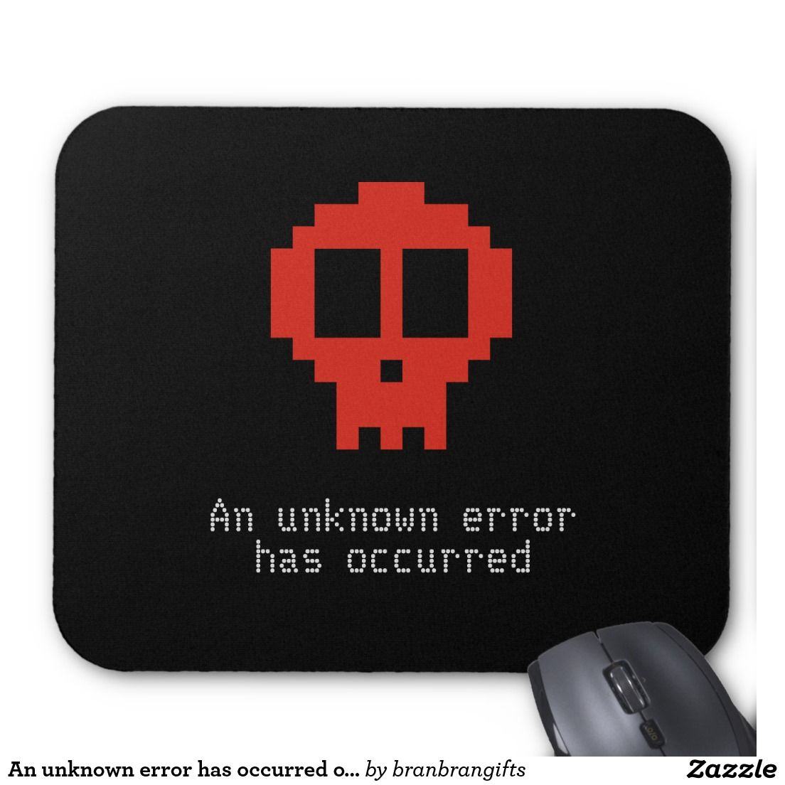 An unknown error has occurred on my pc mouse pad pc
