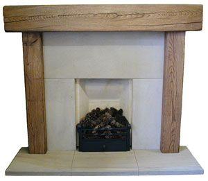Wisdom Fireplaces, Manchester UK - Reclaimed Oak Beam Wooden ...
