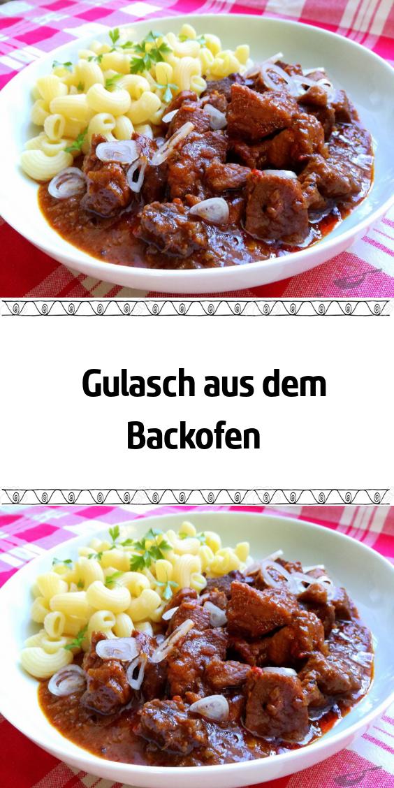 Gulasch aus dem Backofen #gulaschrezept