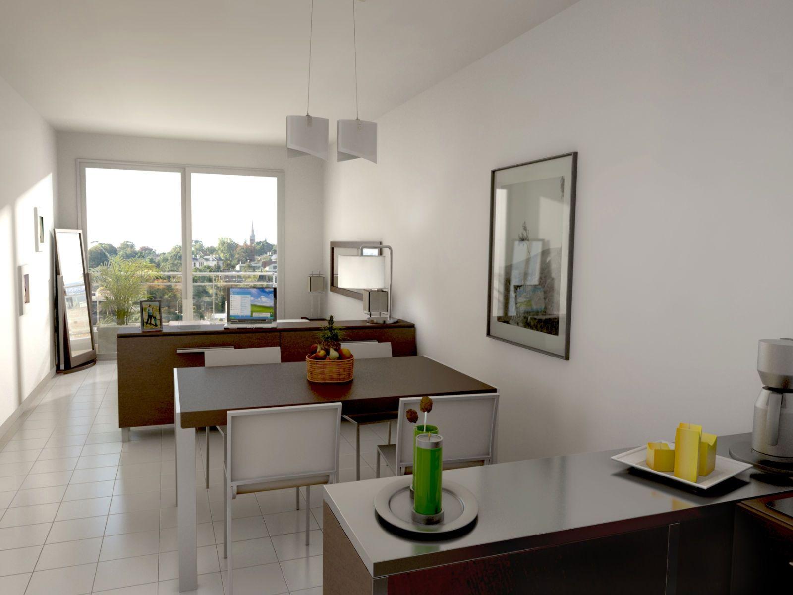Monoambiente1 Jpg 1600 1200 Deco Casa Pinterest Deco Y  # Muebles Separadores Para Monoambientes