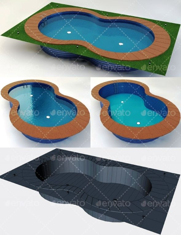 Swimming Pool Low Poly #Swimming, #Pool, #Poly | Simple Graphics ...