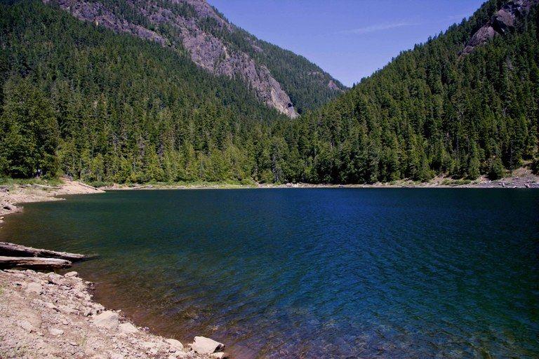 Lena Lake next valley after Hoodsport?