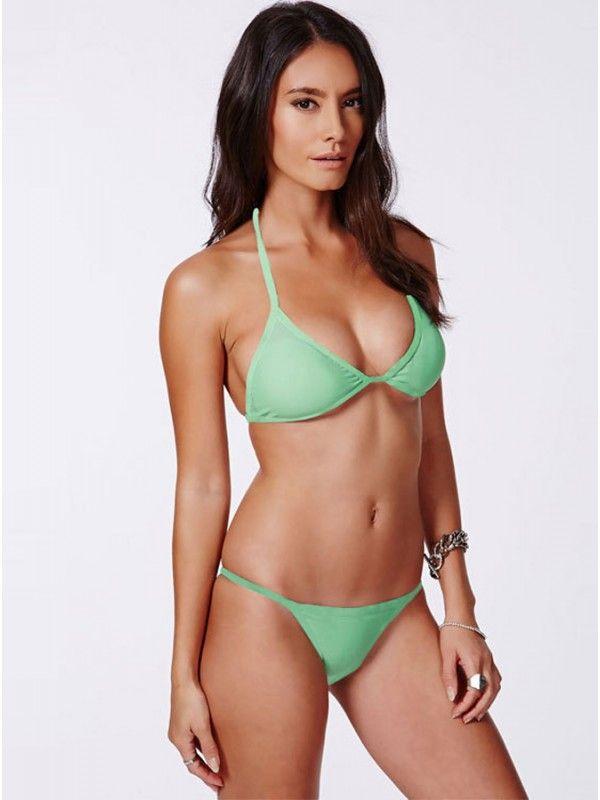 Sexy women in tight bikinis