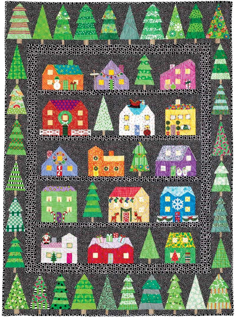 Quilters Newsletter First Christmas Series Quilt. I have already ... : snow quilts - Adamdwight.com