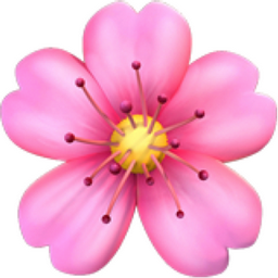 The Cherry Blossom Emoji On Iemojicom Me In 2019 Emoji Flower