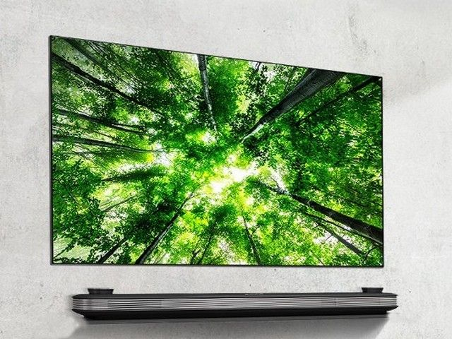 "LG 77"" OLED77W8PUA SIGNATURE OLED TV W8 4K HDR AI Smart"
