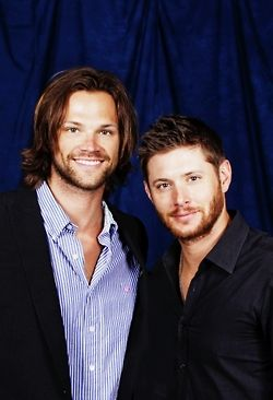Jared and Jensen, they seriously do look like they could be brothers in real life.