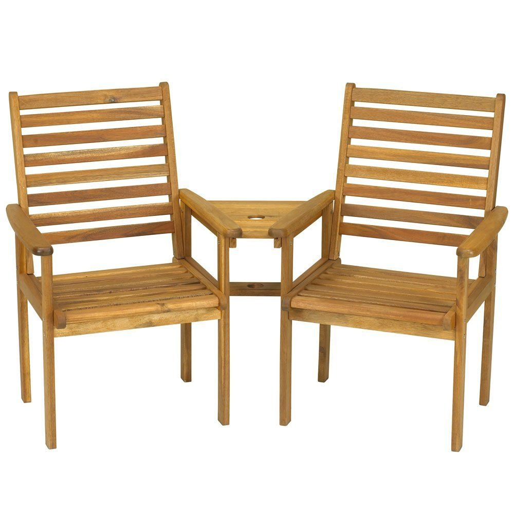 napoli 2 seater companion seat love seat amazoncouk garden