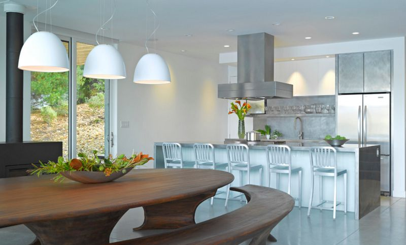 20 Beautiful Stainless Steel Island Counters  Stainless Steel Extraordinary Kitchen Island Counter Review