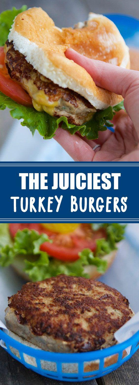 Photo of ★★★★★ 87 reviews: The Juiciest Turkey Burgers   The Best Turkey Burger…
