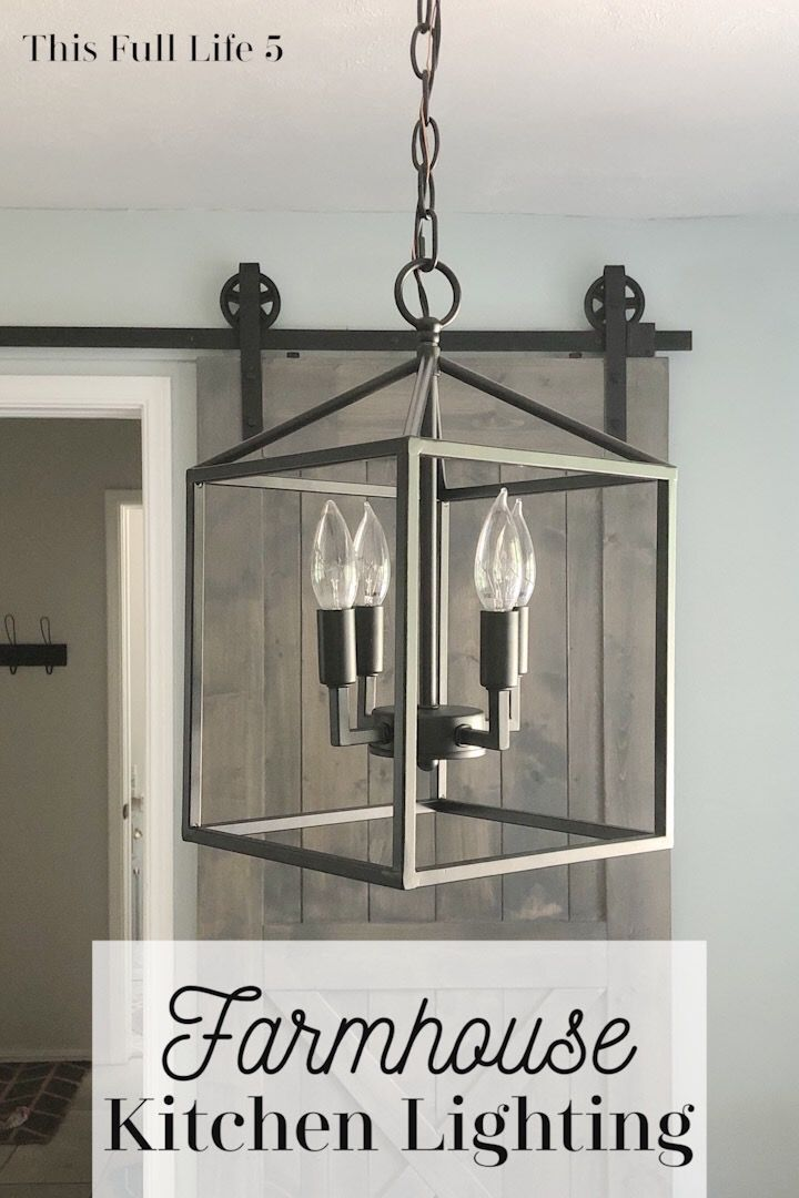 Choosing Kitchen Light Fixtures