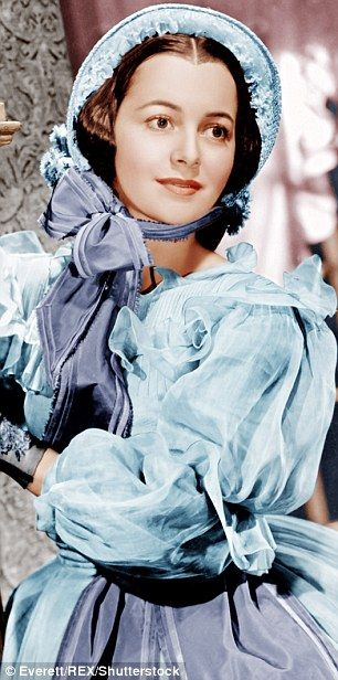 Olivia de Havilland, The actress, seen here in 1939's Gone With The Wind, is one of the last living remnants of Hollywood's Golden Age