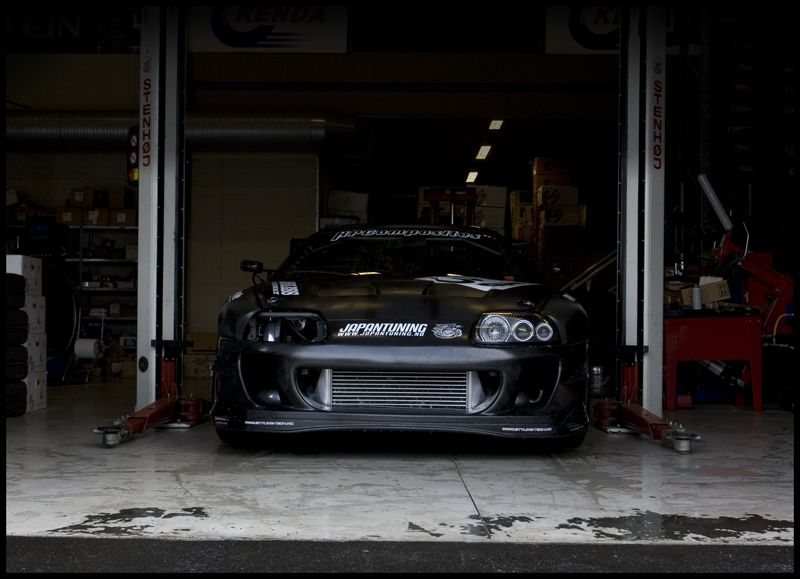 Toyota Supra Looking Mean In The Garage