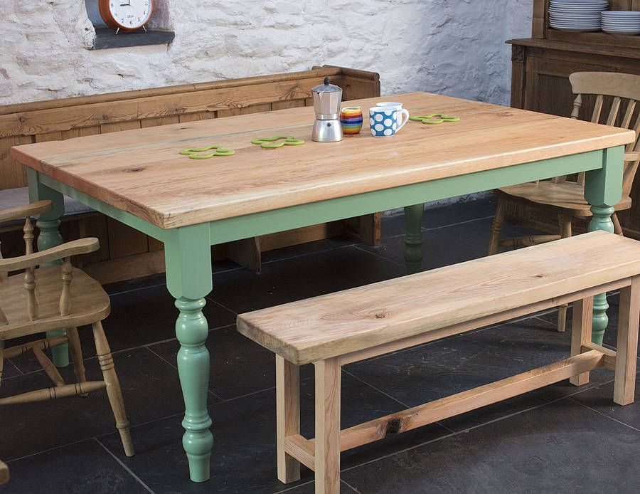 Traditional Farmhouse Kitchen Table