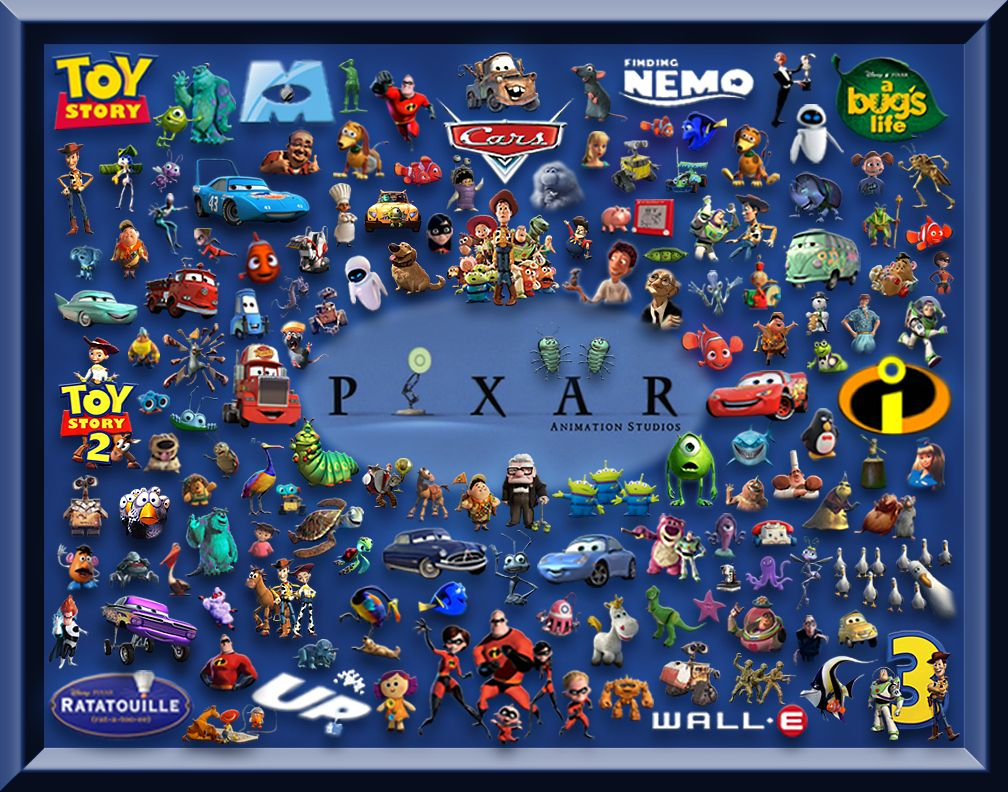 disney pixar movie characters if you are looking for