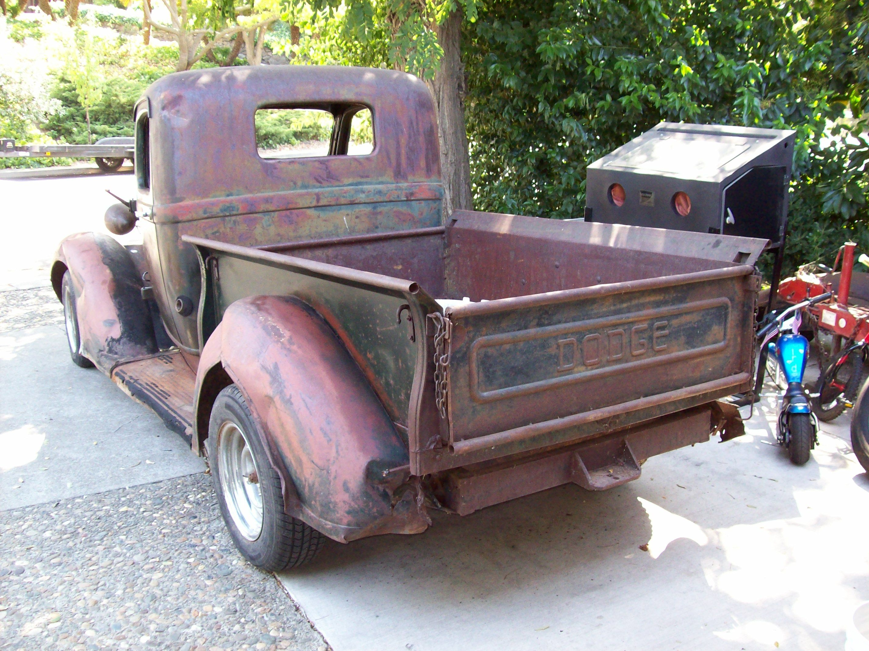 Bought a \'38 Dodge pickup with 2 of my fraternity brothers. We put ...