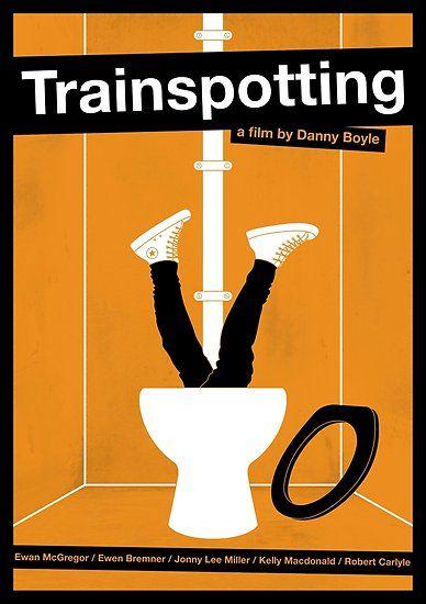 'Trainspotting film poster' Poster by PolarDesigns #filmposterdesign