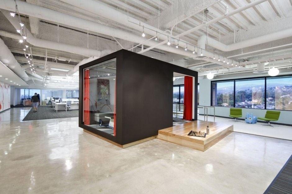 Dreamhost Office Interior By Studio O A Spaces