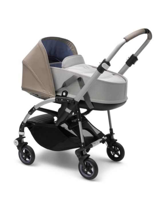 Blue M/élange Use Your Bugaboo Bee5 from Infant with The Bassinet Bugaboo Bee5 Bassinet Complete
