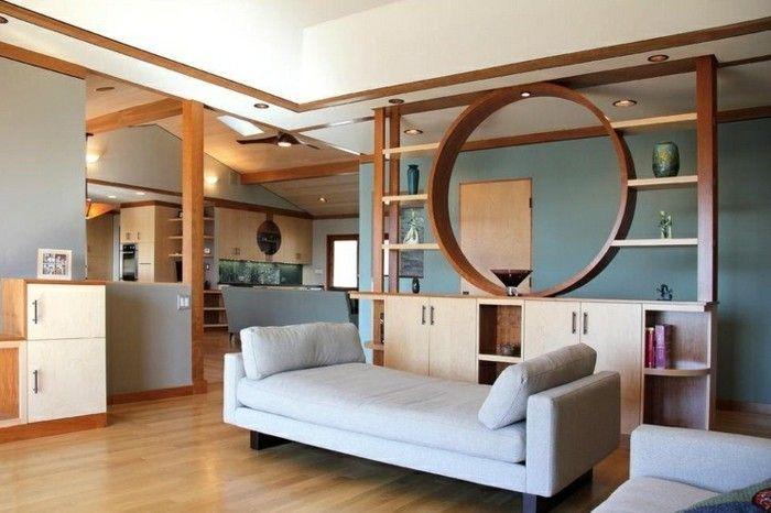 Moderne Ideen zur optischen Trennung durch Regal Raumteiler