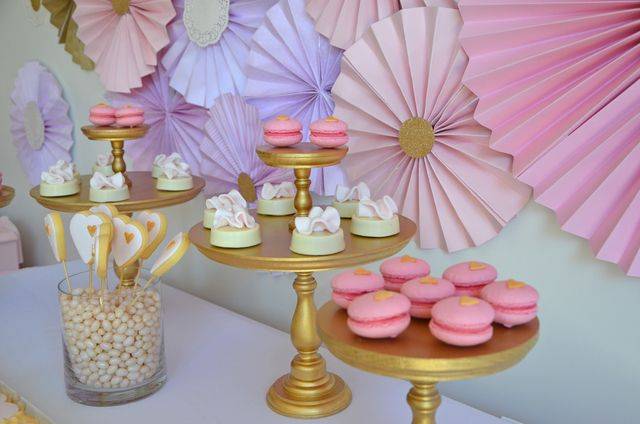 What a gorgeous Princess Tea Party! See more party ideas at CatchMyParty.com!  #partyideas #princess