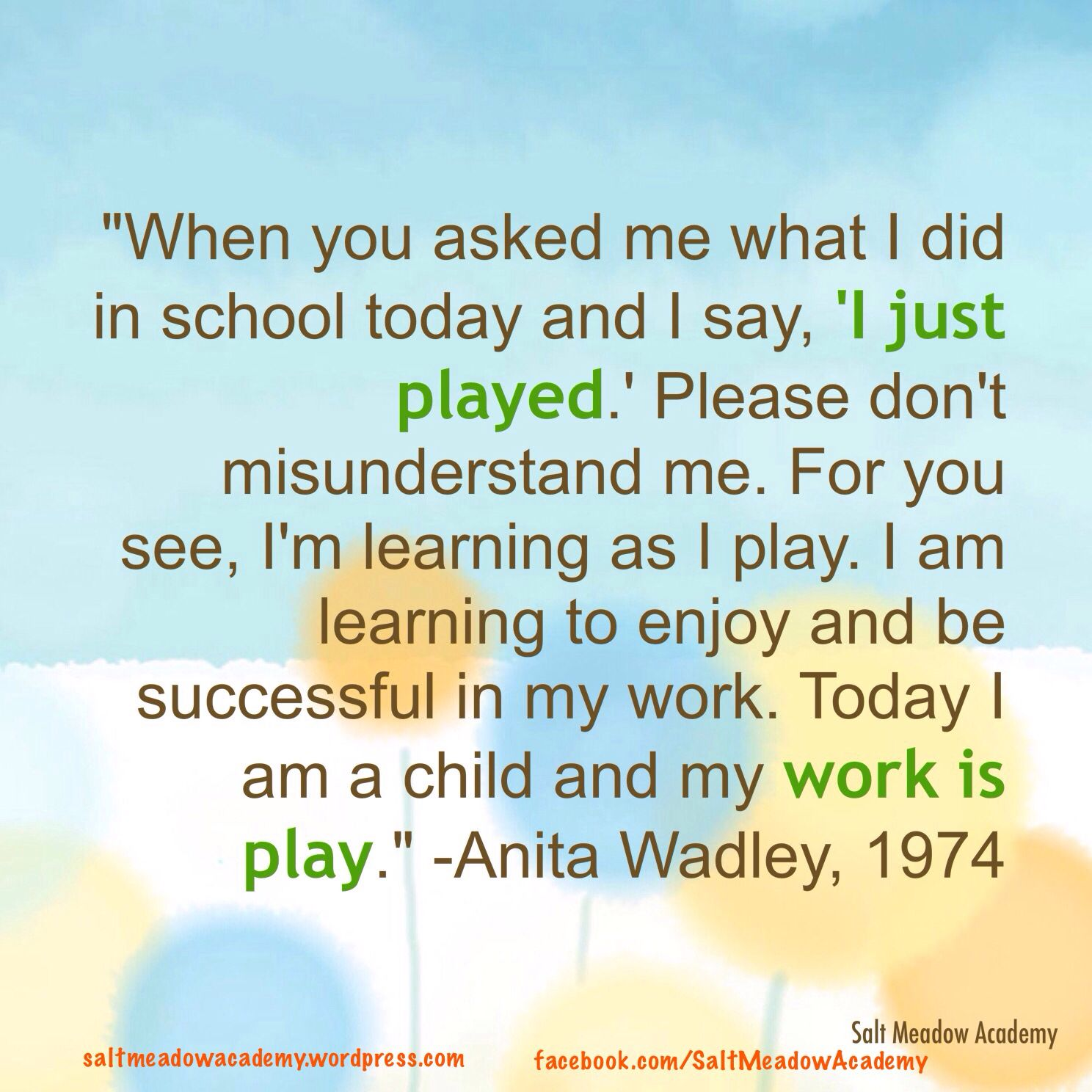 Quotes Children Education: Learning Quotes, Play Quotes