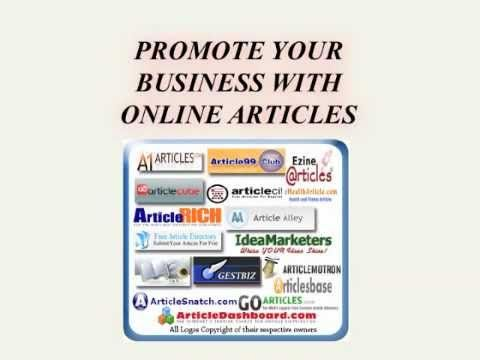 Promote your Business with Online Articles