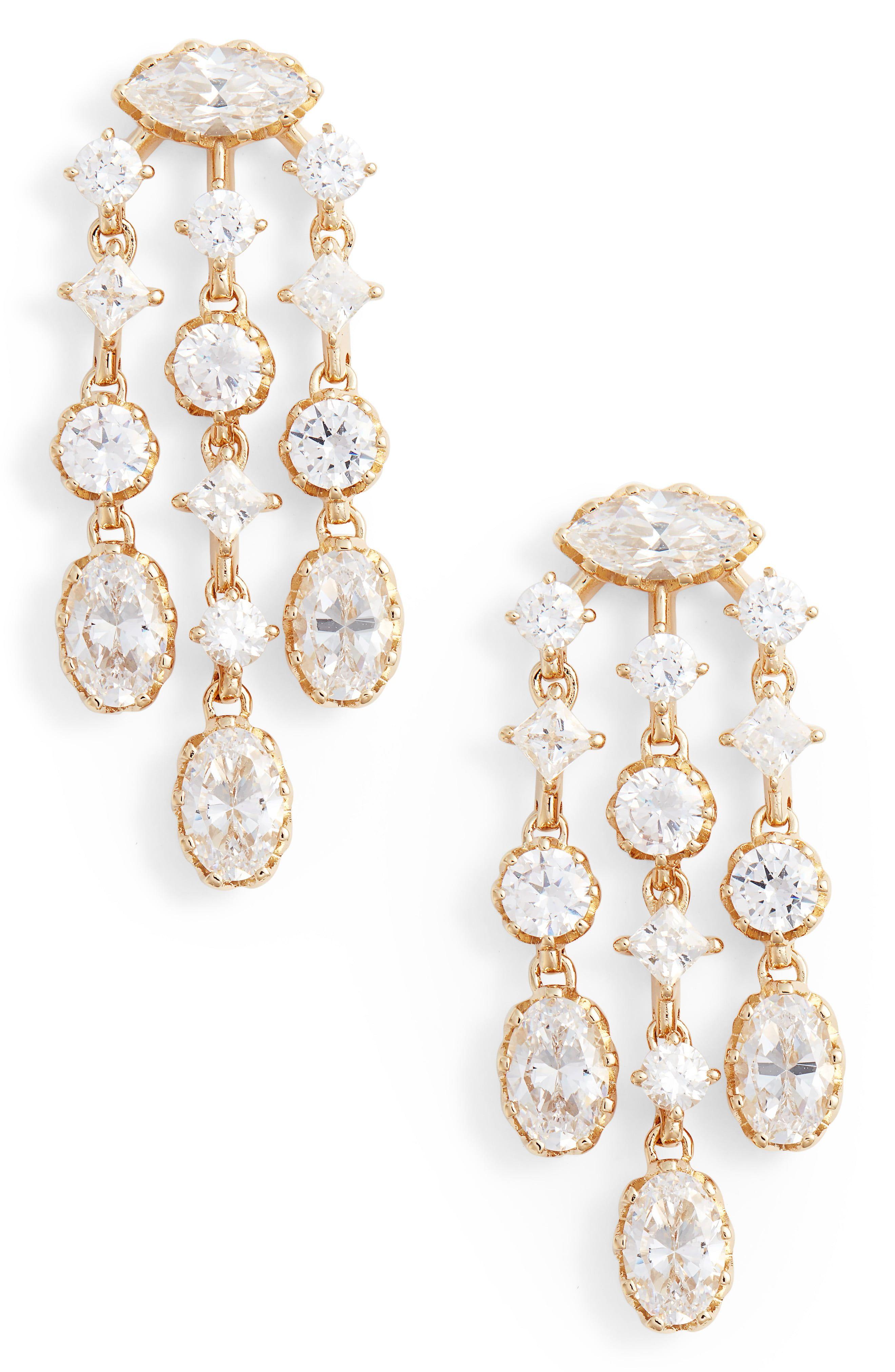 Styleneur Com Chandelier Earrings Nadri Earrings Earrings
