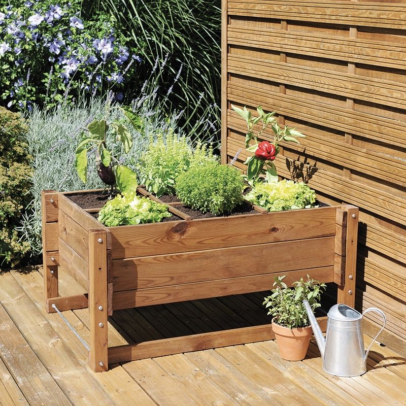carr potager r glable en hauteur r go 104x74cm bac jardinage en hauteur pinterest carr. Black Bedroom Furniture Sets. Home Design Ideas