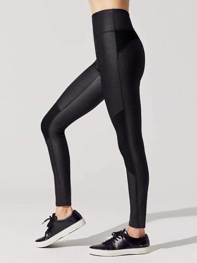 043504b46b54cf Ona Jacquard Moto Legging in 2019   Products   Black moto leggings ...