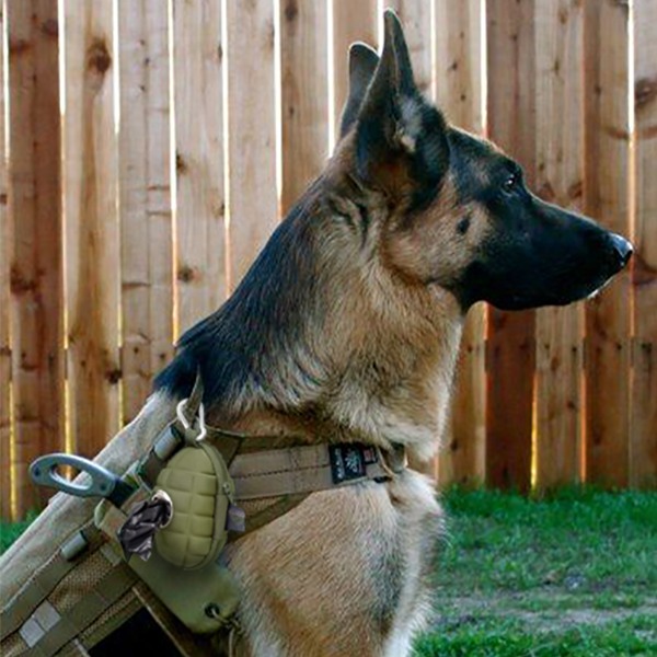 The One And Only Pineapple Grenade Doggie Bag Pouch German Shepherd Dogs German Shepherd Shepherd Dog