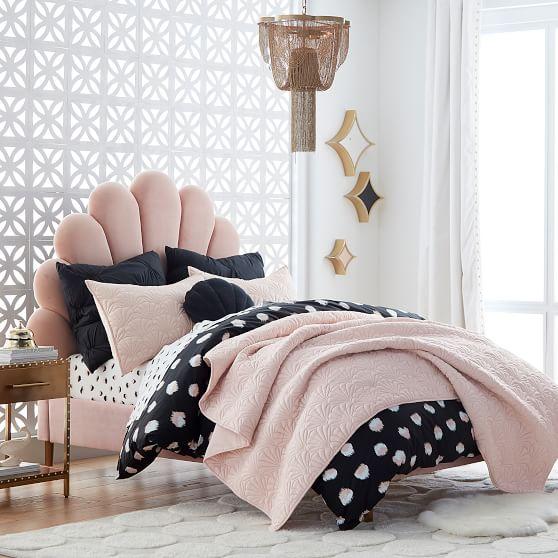 The Emily & Meritt Shell Upholstered Bed in 2020