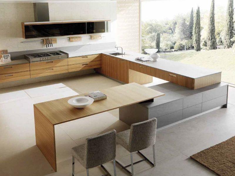 Elm #kitchen CREDENZA by TONCELLI CUCINE #interiors